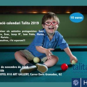 PRESENTACIÓ CALENDARI TALITA 2019