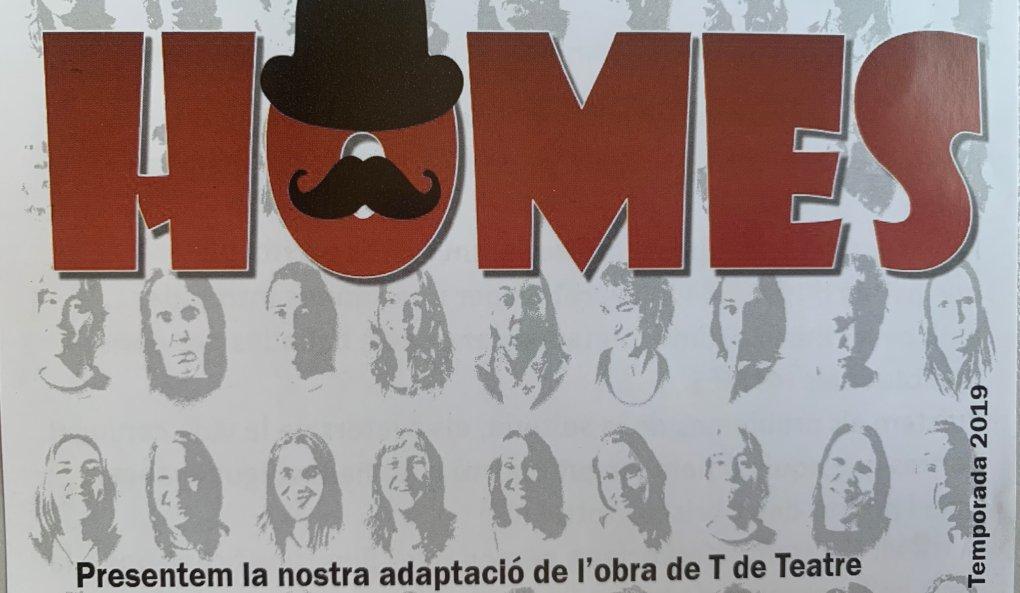 TEATRO SOLIDARIO: HOMES!