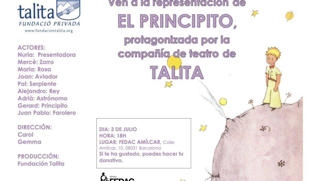 EL PRINCIPITO a cargo de la Compañía de teatro de Talita