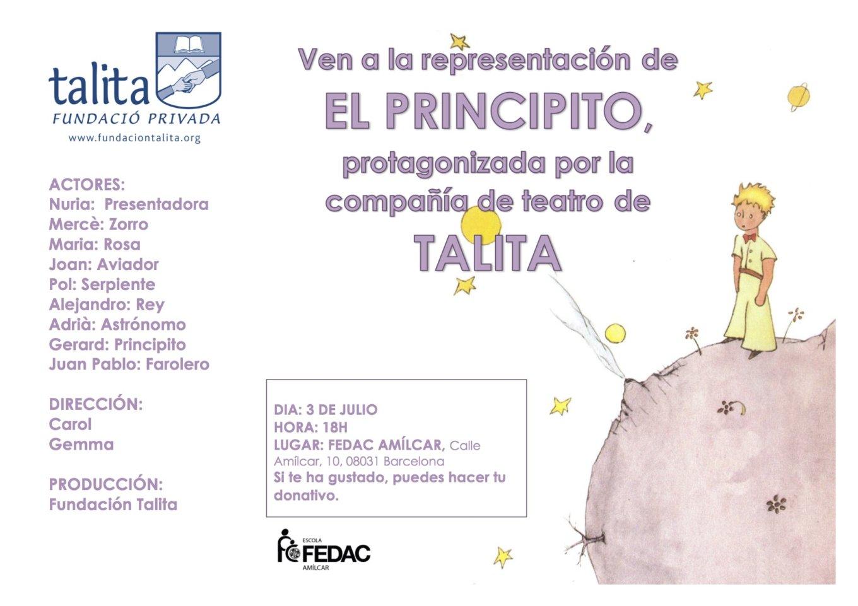 """Teatro: """"El Principito"""""""