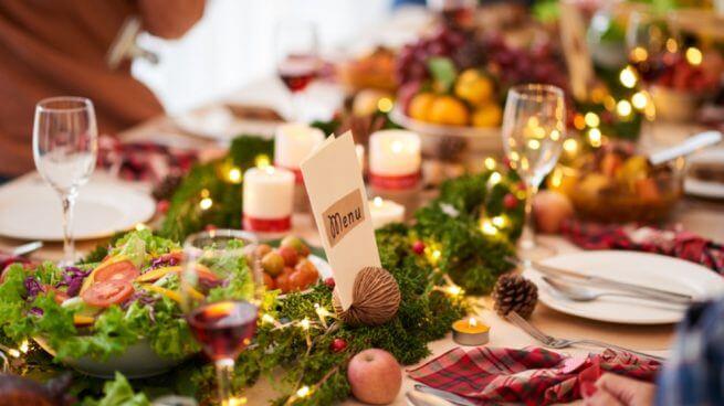 Cena navideña de Familias