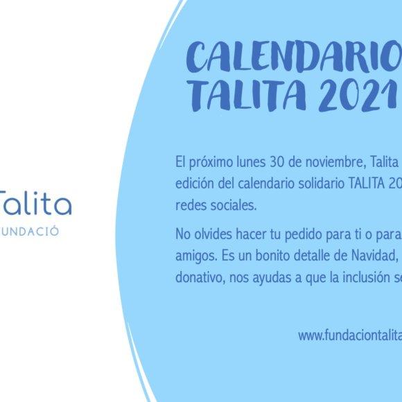 Presentación Online Calendario Talita 2021